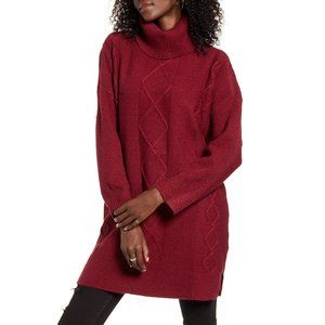 NWOT MinkPink Lesley Cable Tunic Sweater Size S